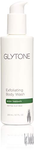 Glytone Exfoliating Body Wash with Glycolic Acid, Keratosis Pilaris, KP, Smooth Rough & Bumpy Skin, Oil-Free, Fragrance-Free
