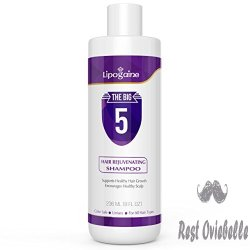 Lipogaine Hair Growth Stimulating Natural Shampoo