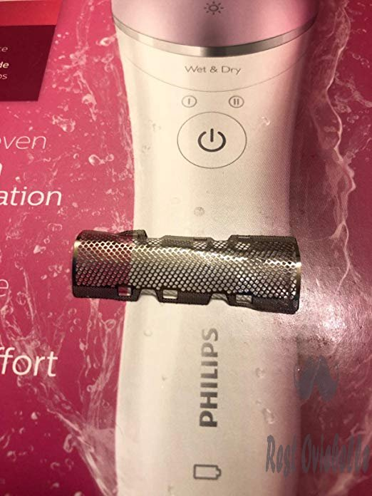 Philips Satinelle Advanced Epilator, Electric Hair Removal, Cordless Wet & Dry Use, (BRE635) Customer Image