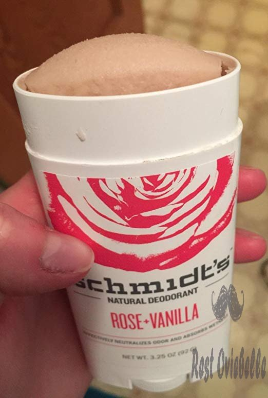 Schmidt's Natural Deodorant - Rose and Vanilla, 3.25 ounces. Stick for Women and Men Customer Image 2