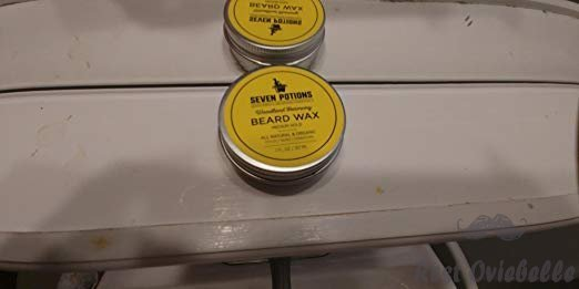 Seven Potions Beard Wax 1 oz. Natural And Organic Beard Styling Wax For Medium Hold. Shape And Nourish Your Beard While Looking Natural. Doesn't Make The Beard Stiff (Woodland Harmony) Customer Image