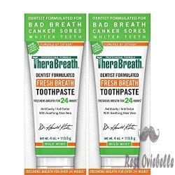 TheraBreath 24-Hour Fresh Breath Toothpaste
