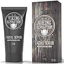 Viking Revolution Microdermabrasion Face Scrub for Men