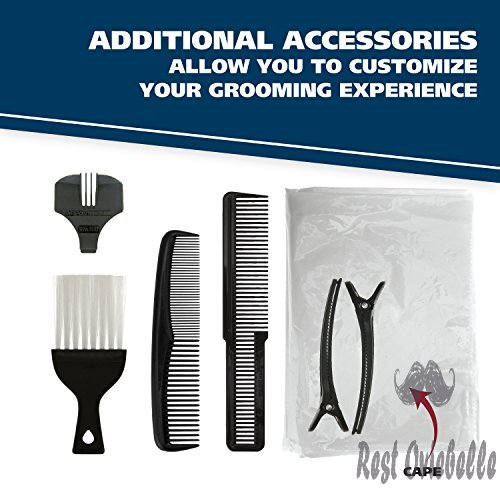 Wahl Color Pro Complete Hair Cutting Kit with Extended Accessories & Cape, Includes Color Coded Guide Combs and Color Coded Hair Length Key, Styling Shears, and Combs for Home Styling,79300-1001  Image 2