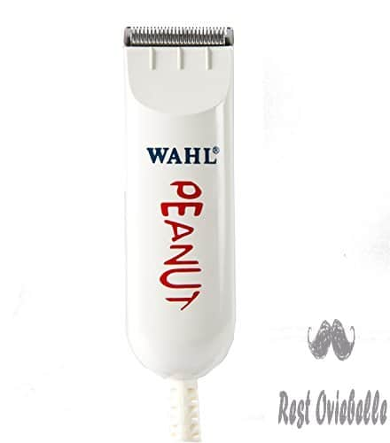 Wahl Professional Peanut Classic Clipper/Trimmer #8685, White – Great for Barbers and Stylists – Powerful Rotary Motor  Image 4