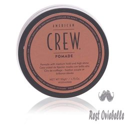 American Crew Pomade - Best Pomade For Curly Hair & Thick Hair
