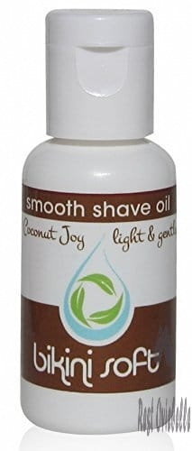BIKINI SOFT Smooth Shave Oil (1 oz) Lovely Coconut Joy Scent - SMOOTHEST Shave Ever on Legs, Underarms, Bikini Line & Intimate Areas: Stops Ingrown Hairs, Razor Bumps & Razor Burn- for Sensitive Skin  Image