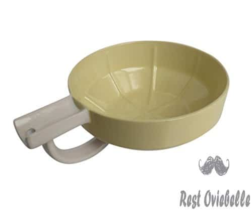 Fine Lather Bowl with StaticHole Technology (Ivory)