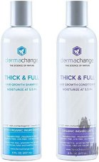 Organic Vegan Hair Growth Organic Shampoo Stop Hair Loss - Color Treated or Curly Hair - For Woman and Men