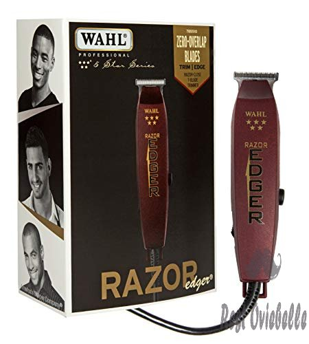 Wahl Professional 5-Star Razor Edger #8051 – Great for Barbers and Stylists – Razor Close Trimming and Edging – No Heat Build Up – Strong Electromagnetic Motor – Accessories Included