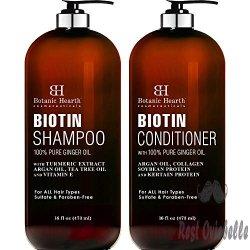BOTANIC HEARTH Biotin Shampoo and