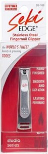 Seki Edge Ss-106 Stainless Steel Fingernail Clipper