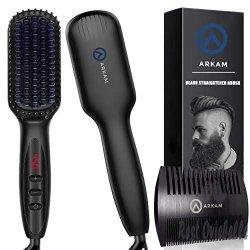 Arkam Premium Ionic Beard Straightener Comb