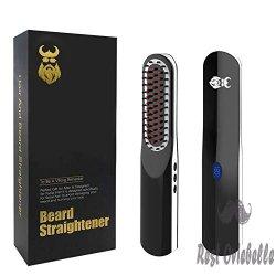 Cordless USB Beard Straightener