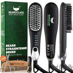 BeardClass Premium Beard Straightener Brush
