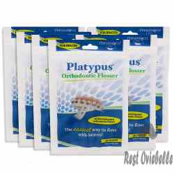 Platypus Orthodontic Flossers For Braces