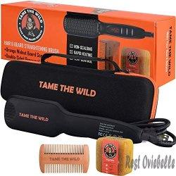Tame The Wild Heated Beard Straightener Brush