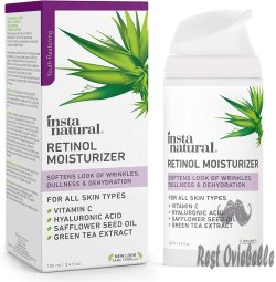 Instanatural Retinol Moisturizer Anti Aging Night Face Cream