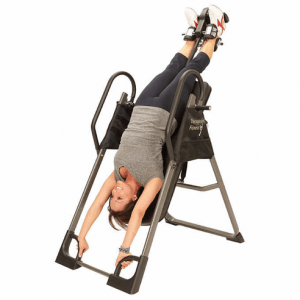 hanging upside down chair for back medline shower what type of mattress is best pain a chiropractor s office or from one those inversion tables we find ourselves in daily fight to relieve that constant dull ache