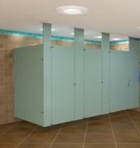Baked Enamel Restroom Dividers for Public Restrooms