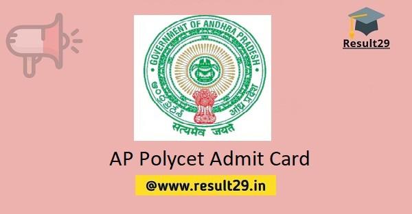 AP Polycet Admit Card