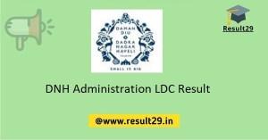 DNH Administration LDC Result