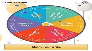 Amazon Wheel of Fortune Quiz