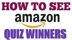 Amazon Quiz Winners