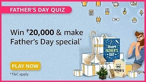 Amazon Fathers Day Quiz