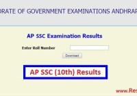 Andhra Pradesh (AP) SSC 10th Class Result