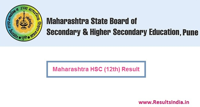 Maharashtra Board HSC 12th Result 2018