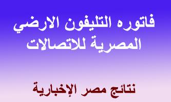 دليل المصريه للاتصالات في الحصول على فاتوره التليفون بالاسم