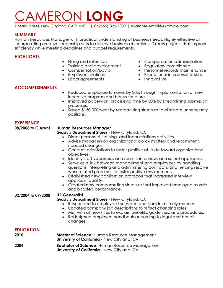 Resume Templates - Resume Now