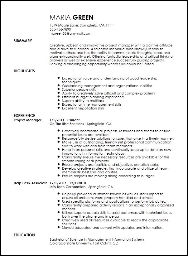 free resume builder service canada
