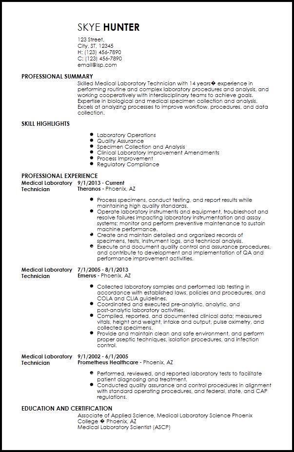 Free Contemporary Medical Resume Templates  ResumeNow