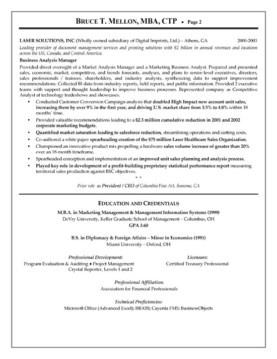 Revenue Analyst Cover Letter
