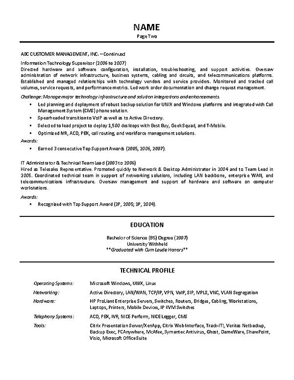 Supervisor Resume Smart Crew Supervisor Resume Example