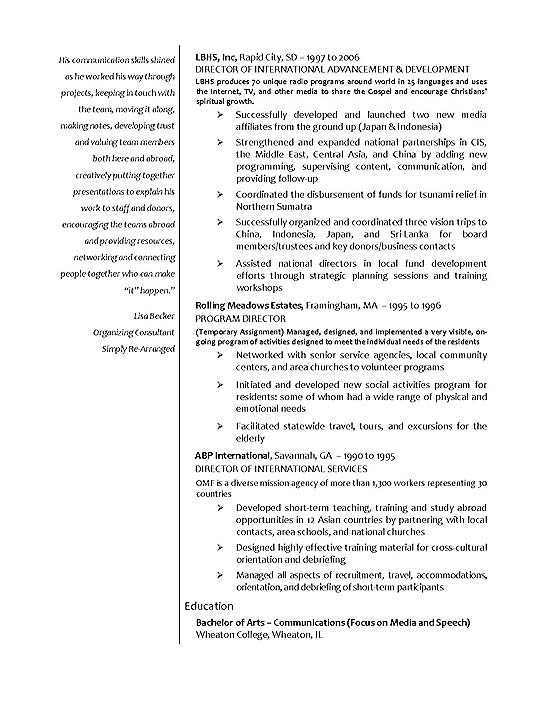 international relations entry level job resume templates