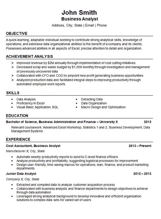 resume32 data analyst
