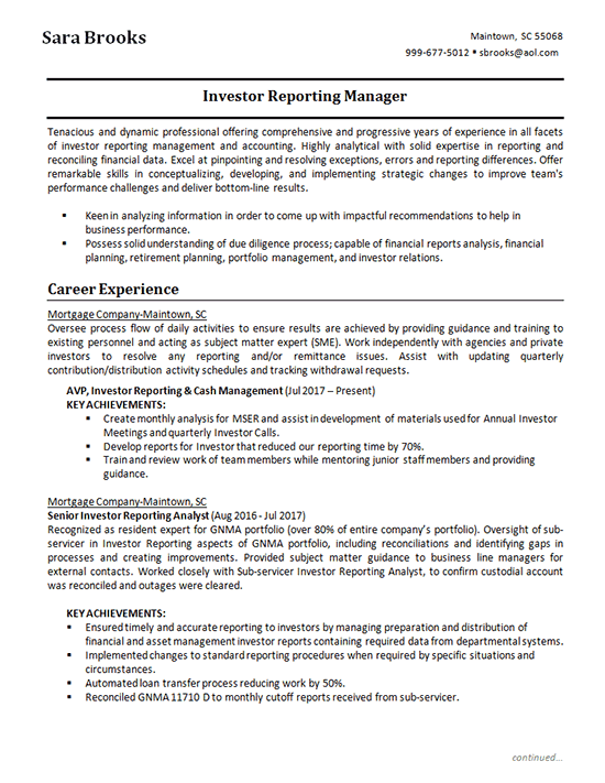 resume skills examples for accounting