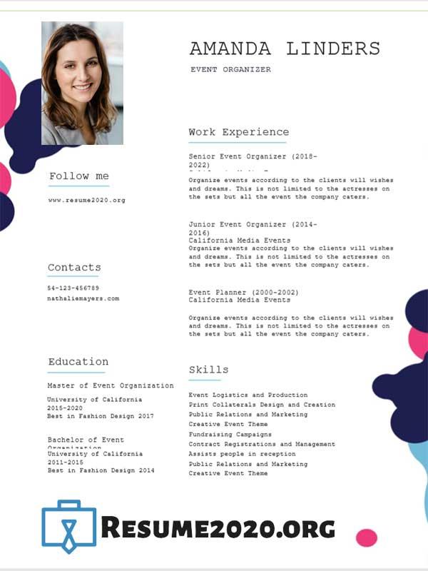 top resume template download