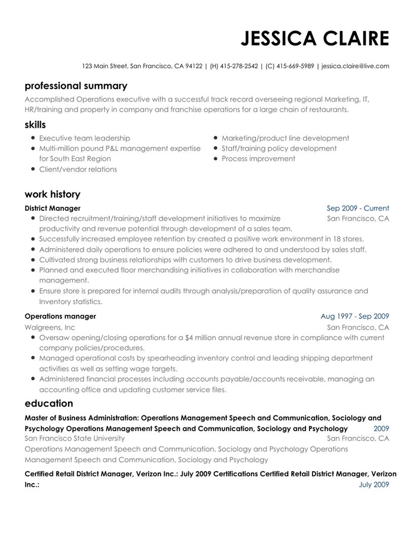 resume maker online template