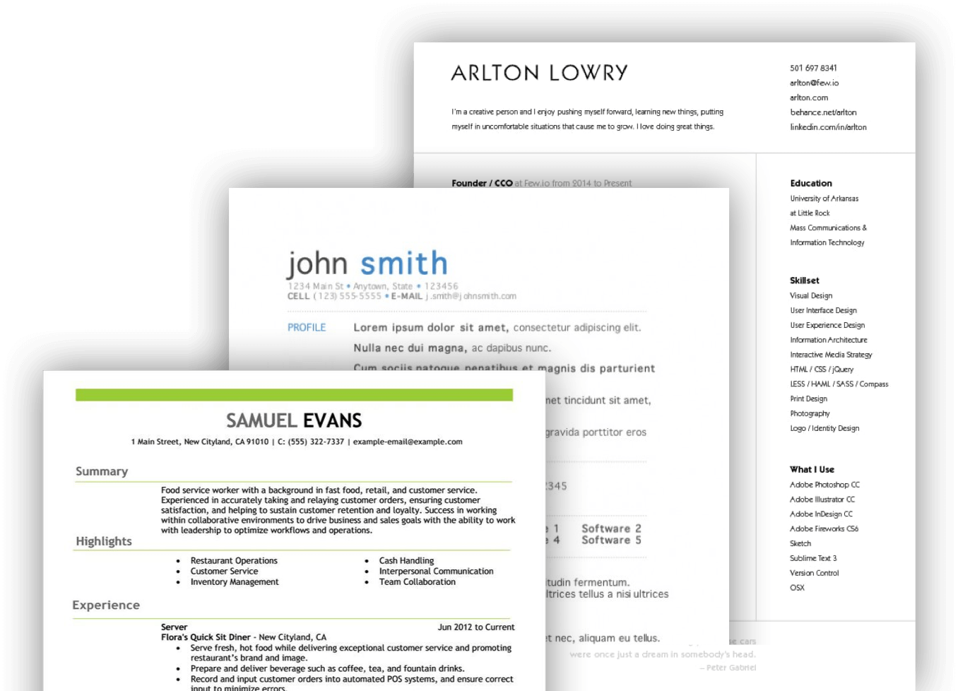 Build The Perfect Resume With Our Online Resume Maker