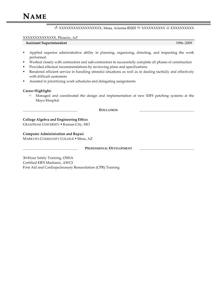 security clearance resume examples