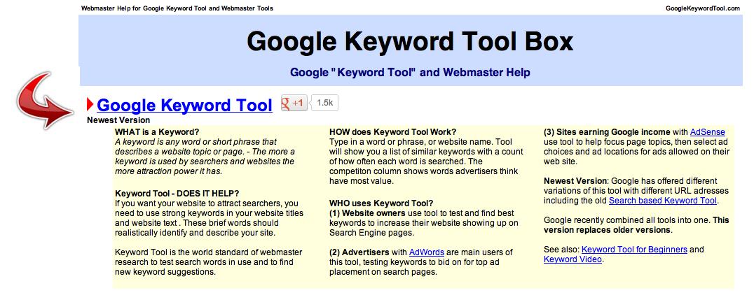 resume keyword search tool