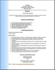 Airlines Resume Occupational Examples Samples Free Edit