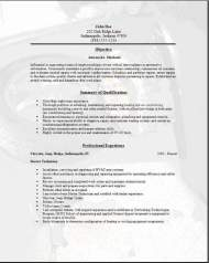 Skilled Labor Trades Resume Occupationalexamplessamples