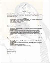 Administrative Assistant Resume, examples, samples Free
