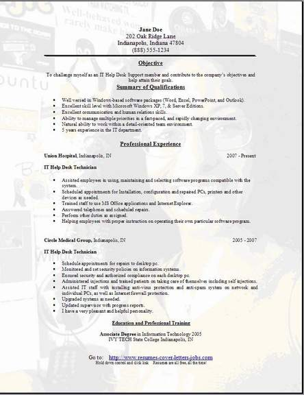 resume examples resume examples service engineer resume field service engineer it tech resume - Help Desk Resume Sample