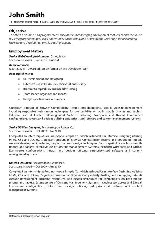 how to do a resume template in word